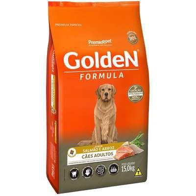Ração Golden Formula Cães Adultos Salmão e Arroz 15kg