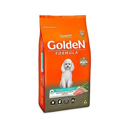 Ração Golden Formula Cães Adultos Frango e Arroz Mini Bits 3kg