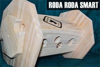 Brinquedo Roda-Roda Smart Madeira Cão Sentinela