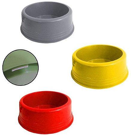 Comedouro Plástico Pequeno com Antiderrapante Polymer