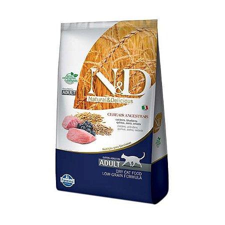 Ração Farmina N&D Ancestral Grain Cordeiro para Gatos Adultos 7,5kg
