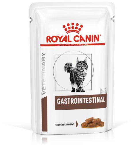 Ração Úmida Royal Canin Sachê Feline Gastro Intestinal Wet 85g