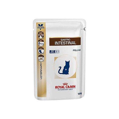 Ração Royal Canin Sachê Feline Veterinary Diet Gastro Intestinal Wet - 100g   *Imagem Meramente Ilustrativa*