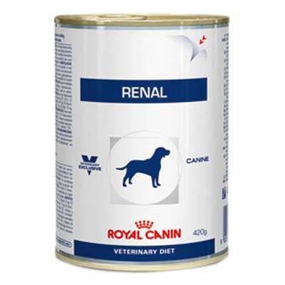 Ração Úmida Royal Canin Lata Canine Veterinary Renal - 410g     *Imagem Meramente Ilustrativa*