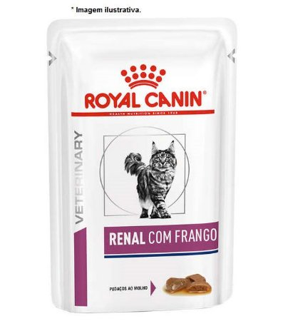 Ração Úmida Royal Canin Feline Sachê Renal Wet - 85gr