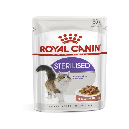 Ração Úmida Royal Canin Sachê Feline Sterilised - 85g