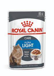 Ração Úmida Royal Canin Sachê Feline Ultra Light - 85g          *Imagem Meramente Ilustrativa*