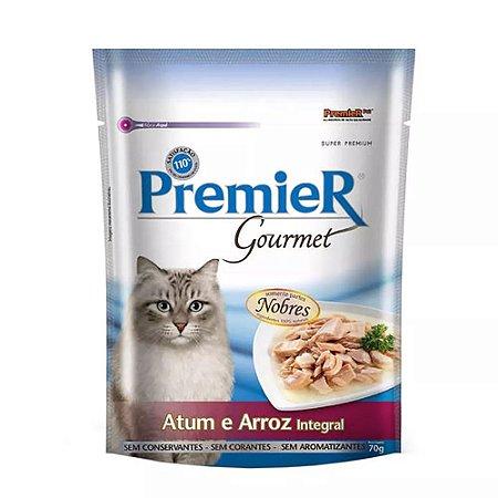 Ração Úmida Premier Pet Gourmet Sachê Atum para Gatos Adultos - 70g  *Imagem Meramente Ilustrativa*