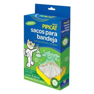 Sacos para Bandeja Kelco Pipicat Biodegradáveis - 8 Unidades    *Imagem Meramente Ilustrativa*