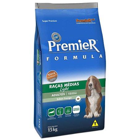 Ração Premier Pet Formula Cães Adultos Light 15kg