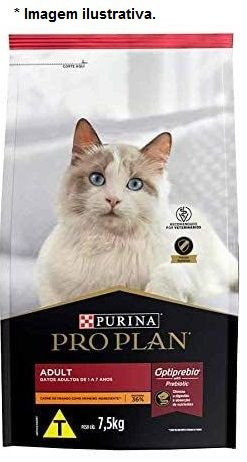 Ração Nestlé Purina Pro Plan para Gatos Adultos 7,5kg