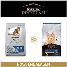 Ração Nestlé Purina Pro Plan para Gatos Adulto 7+ 7,5kg