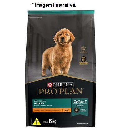Ração Pro Plan para Cães Puppy Porte Médio 15kg