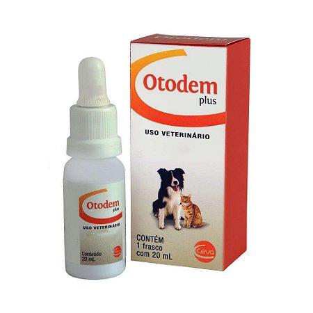 Solução Otológica e Dermatológica Ceva Otodem Plus - 20ml