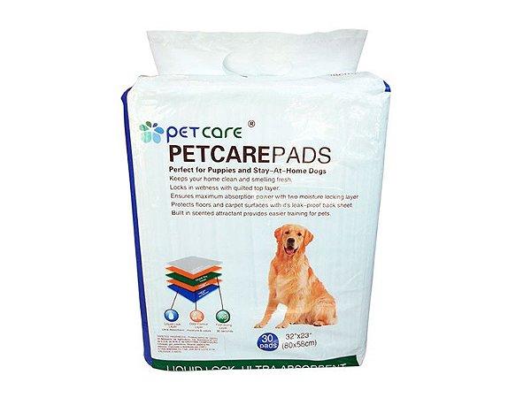 Tapete Higiênico Pet Care 80x58 - 50 Unidades