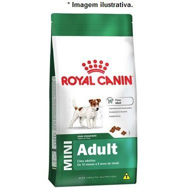 Ração Royal Canin Mini Adult para Cães Adultos de Raças Pequenas 2,5kg