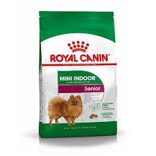 Ração Royal Canin Mini Indoor Sênior 8+ para Cães Adultos de Raças Pequenas 2,5kg