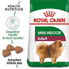 Ração Royal Canin Mini Indoor Adult para Cães Adultos de Raças Pequenas 7,5kg
