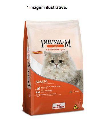 Ração Royal Canin Premium Cat Beleza da Pelagem para Gatos Adultos 10,1kg