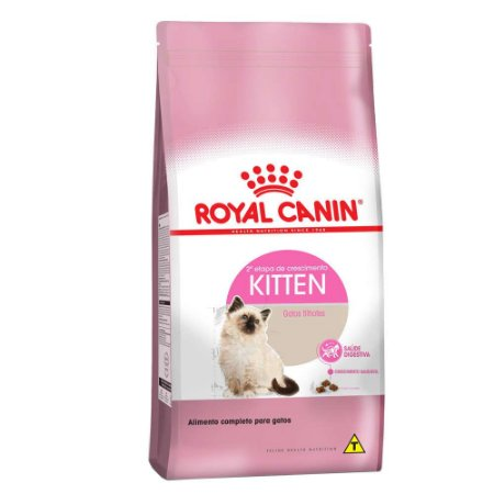Ração Royal Canin Kitten para Gatos Filhotes com até 12 meses de Idade 7,5kg
