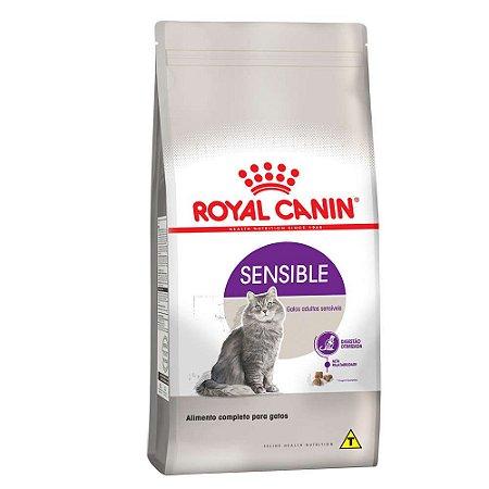 Ração Royal Canin Sensible para Gatos Adultos Sensíveis 1,5kg