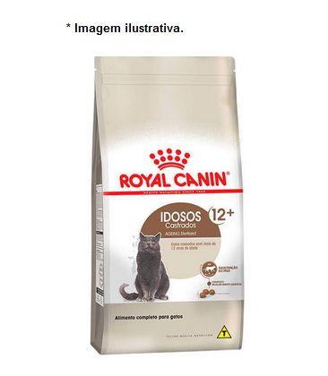 Ração Royal Canin Gatos Idosos Castrados +12 Anos 1,5kg