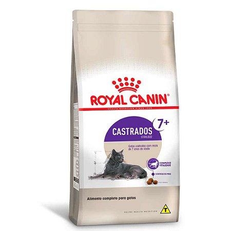 Ração Royal Canin Gatos Castrados Sterilised +7 anos  4kg
