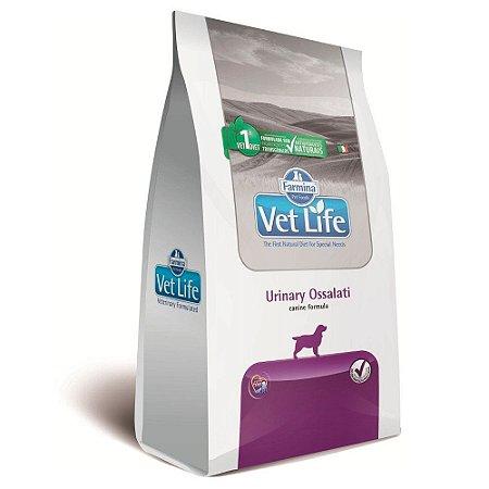 Ração Farmina Vet Life Urinary Ossalati para Cães Adultos - 10kg         *Imagem Meramente Ilustrativa*