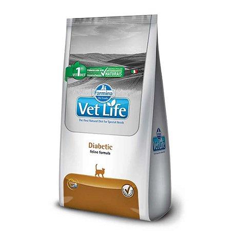 Ração Farmina Vet Life Natural Diabetic para Gatos Adultos - 2kg      *Imagem Meramente Ilustrativa*