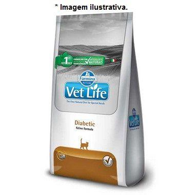 Ração Farmina Vet Life Natural Diabetic para Gatos Adultos 2kg