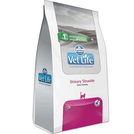 Ração Farmina Vet Life Natural Urinary Struvite para Gatos - 2kg    *Imagem Meramente Ilustrativa*