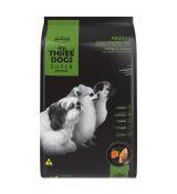 Ração Hercosul Three Dogs Super Premium Frango e Cenoura para Adultos de Raças Pequenas e Mini 10,1kg