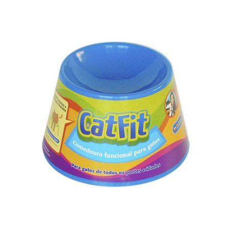Comedouro Funcional Pet Games Cat Fit para Gatos *consultar cores*