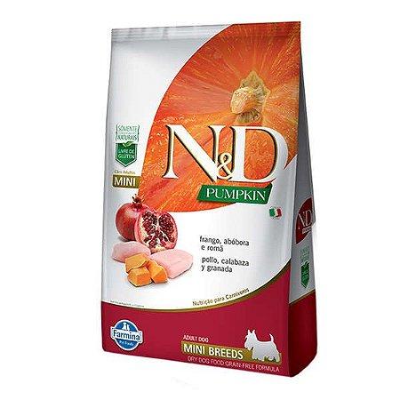 Ração Farmina N&D Pumpkin Frango para Cães Adultos de Raças Pequenas 2,5kg