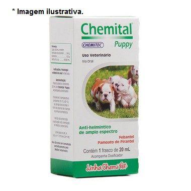 Chemital Puppy para Cães Chemitec 20ml