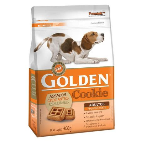 Biscoito Golden Cookie para Cães Adultos Mini Bits 400gr