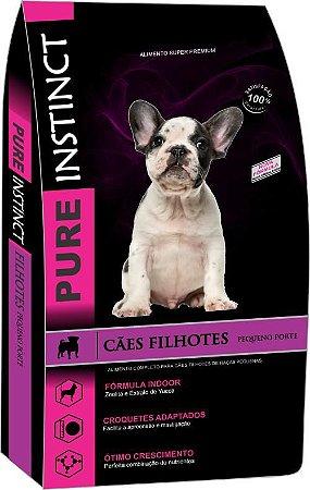 Ração Pure Instinct Filhotes Raças Pequenas - Super Premium - 3kg