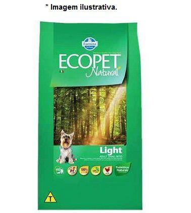 Ração Farmina Ecopet Natural Light para Cães Adultos com Tendência a Obesidade de Raças Pequenas 3kg
