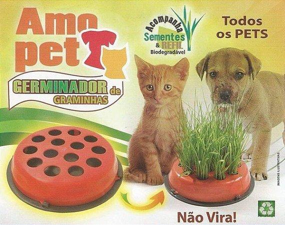 Kit Germinador de Graminhas para Cães e Gatos
