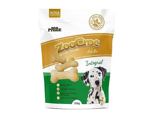 Zoocroc  biscoito crocante Integral adulto 500gr