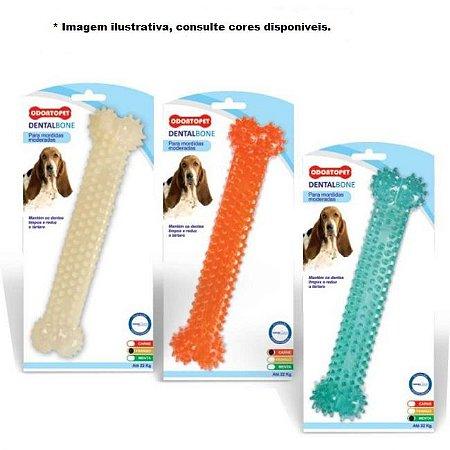 Brinquedo Dental Bone OdontoPet Osso até 22kg - Menta