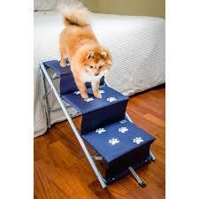 Escada ou Rampa Tubline One para cães azul