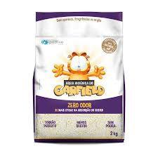 Areia do Garfield Bio Grossa (ROXA) 2kg