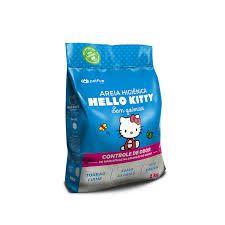 Areia Higiênica Hello Kitty Clássica (Azul) 2kg