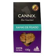 Petisco Pets du Monde Cannix Box Gourmet mini Ramas de Fígado 100gr