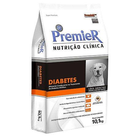 Ração Premier Pet Nutrição Clínica Diabetes para Cães Adultos Médios e Grandes Portes 10,1kg