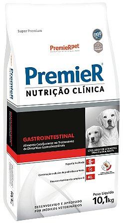 Premier Nutrição Clínica Gastrointestinal Cães Filhotes e Adultos 10,1kg