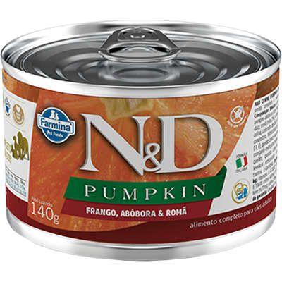 N&D Lata Pumpkin Frango, Abobora & Romã para Cães Adultos 140gr