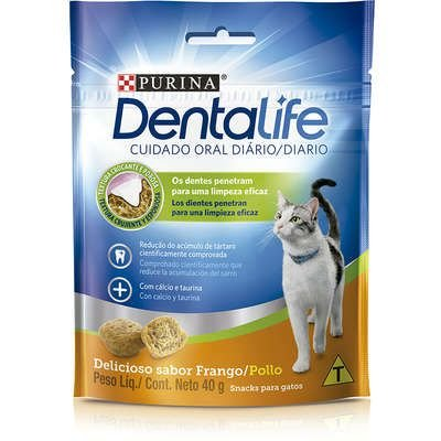 Petisco Nestlé Purina DentaLife para Gatos 40gr