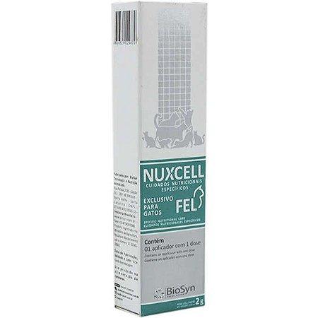 Nuxcell Fel 2g (p/ gatos) 1 aplicador c/ 1 dose
